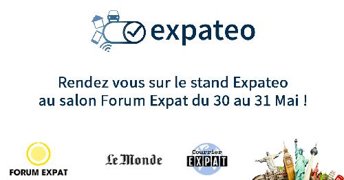 Expateo présent au Forum Expat à Paris